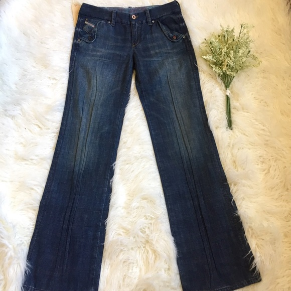 b8536d71 Diesel Jeans | Nwt Wonnha Flare Wide Leg | Poshmark
